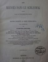 5_Schrift8_Appia_Titelblatt_-_Les_blesses_dans_le_Schleswig_pendant_la_guerre